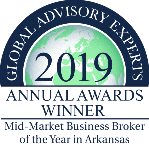 CBI Team Named Arkansas Mid-Market Business Broker Of The Year By Global Advisory Experts (GAE)