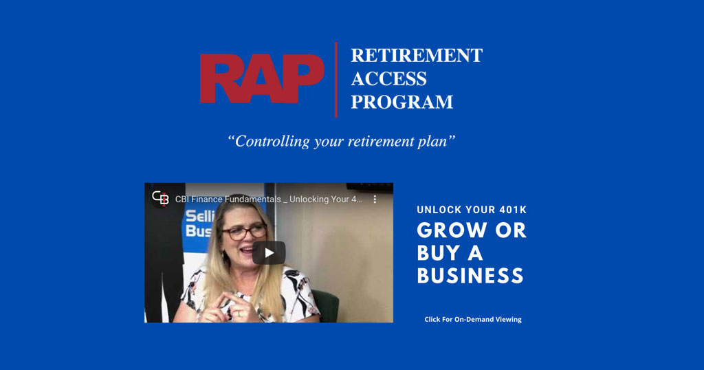 Unlock Your 401k To Grow Or Buy A Business