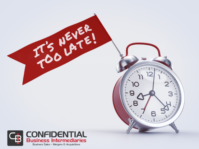 It's Never Too Late To Plan For The Unexpected & The Eventual Sale Of Your Business